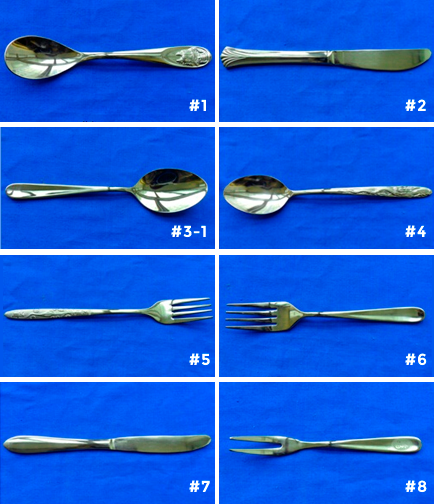 titanium flatware set