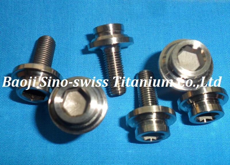 Mini Crank titanium bolts