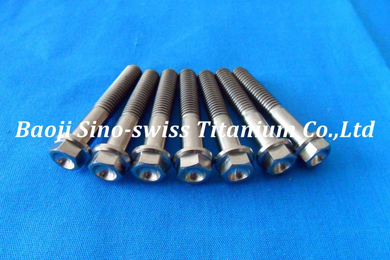 Titanium flange bolt pic 1