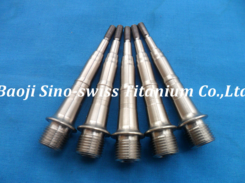 Titanium pedal shaft