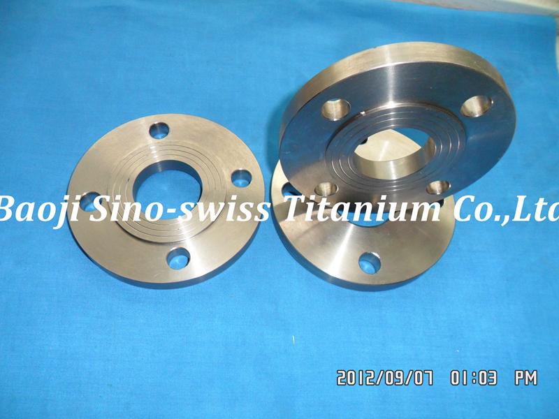 Titanium flange pic 1