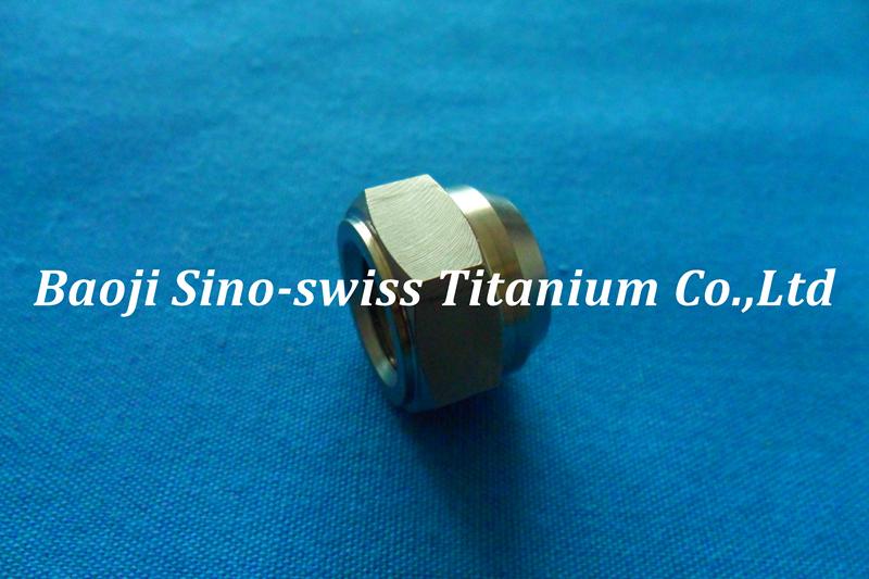 Titanium nylon nut pic 1