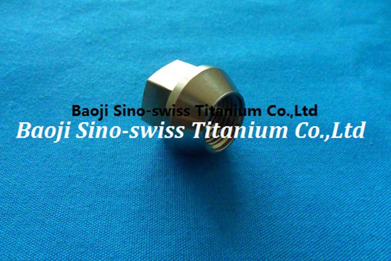 Titanium wheel nut/Titanium lug nut pic 1
