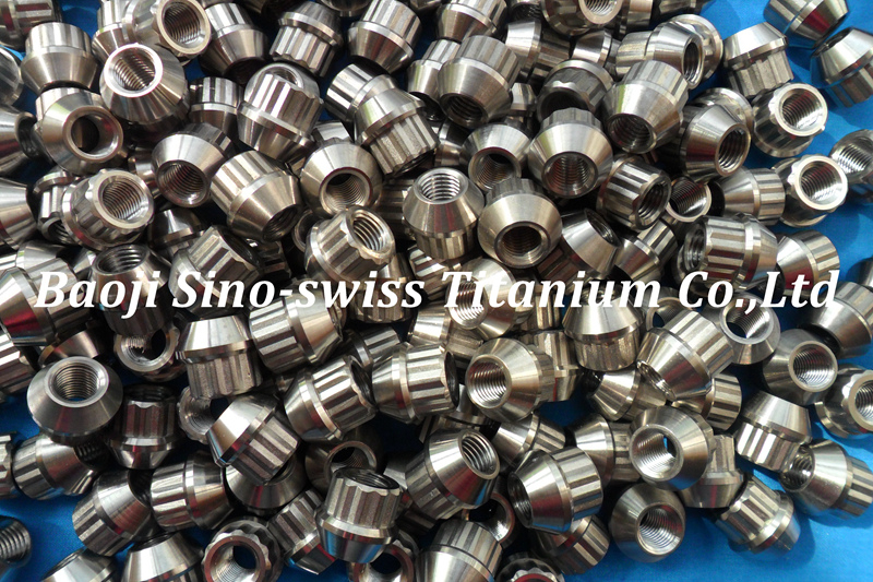 Titanium lock nut pic 1