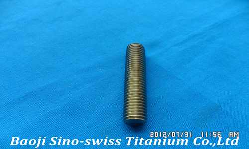 titanium threaded rods pic 1