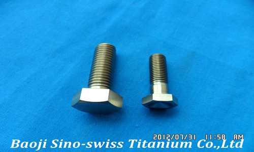 Titanium standard fasteners pic 1