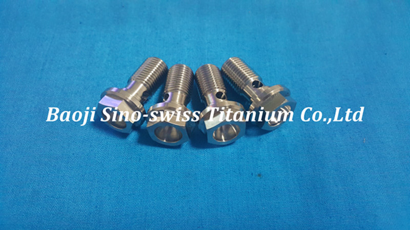 TITANIUM single banjo bolt pic 1