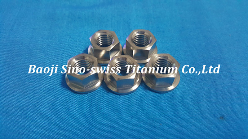 Titanium Sprocket Nuts pic 1