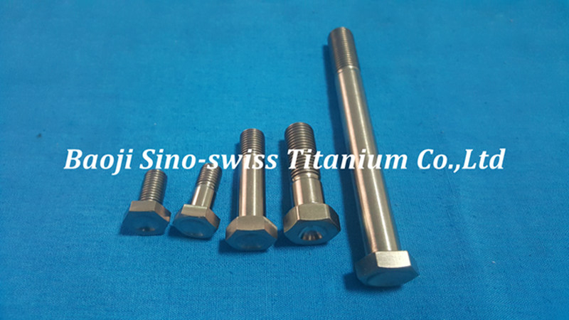 Titanium Hex head Bolts