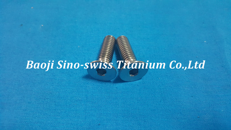 Titanium Countersunk Socket Screw