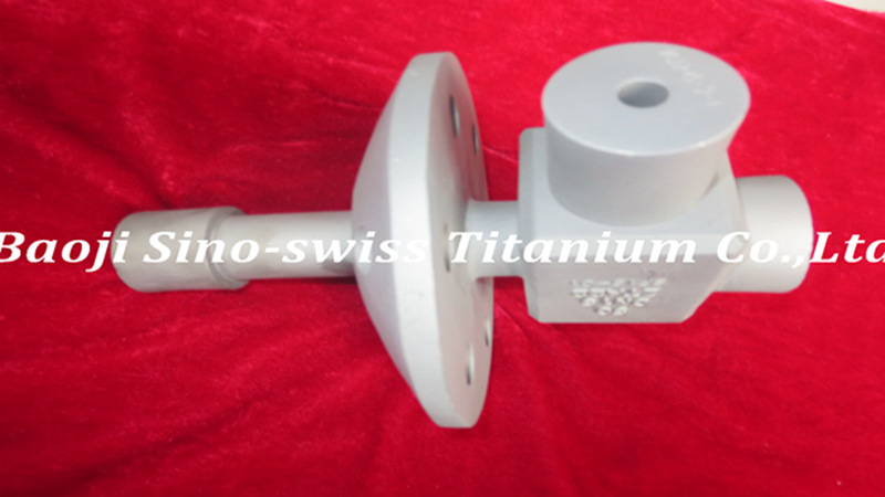 Titanium precision casting parts
