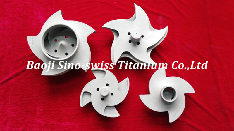 custom titanium parts