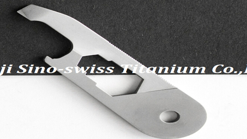 custom titanium machining
