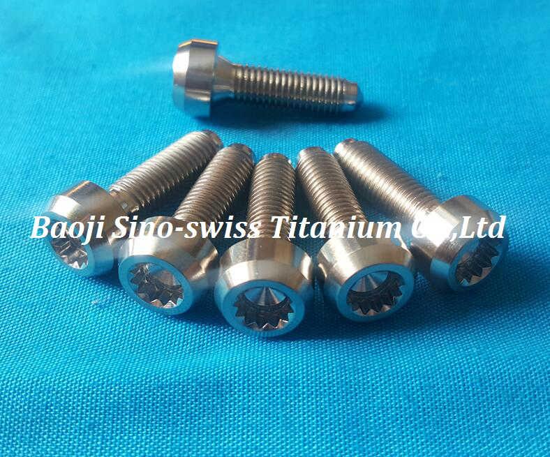 Titanium Split Rim Bolts