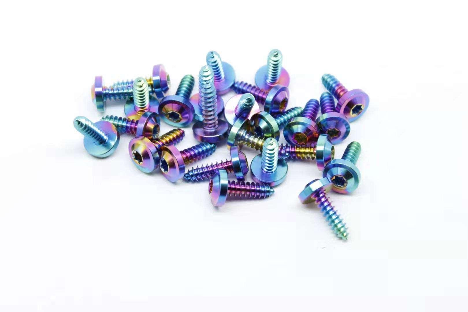 Titanium self-taffing /Titanium tapping screw