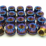 Titanium wheel nut/12pt Titanium lug nuts in stock
